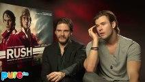 RUSH  Interview Chris Hemsworth  Daniel Bruhl