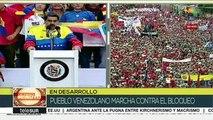 Nicolás Maduro llama a combatir la política imperialista de Trump