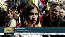 Exigen en Paraguay iniciar un juicio político a Mario Abdo Benítez