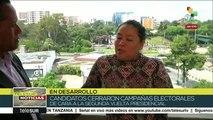 Guatemala: Candidatos cierran campañas electorales