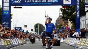 #EuroRoad19 - Elia Viviani  wins the 2019 European Championship