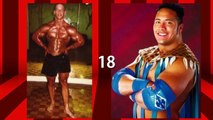 John Cena Vs Dwayne Johnson Transformation From 1 To 45 Years Old
