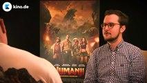 JUMANJI  Dwayne Johnson und Kevin Hart beschimpfen sich auf Deutsch