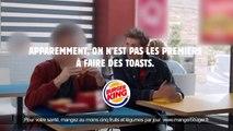 Pour faire oublier la chaîne de fast-food Quick qu'elle a rachetée, Burger King copie le Quick N' Toast