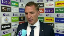 Rodgers relieved that VAR ruled out Wolves goal | Brendan Rodgers Post Match | Wolves 0-0 Leicester