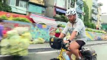The rugby-mad duo cycling from Twickenham to Tokyo