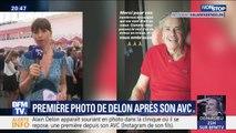 Le fils d'Alain Delon partage la première photo de son père en convalescence