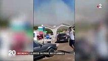 Grèce : une cinquantaine d'incendies dans tout le pays