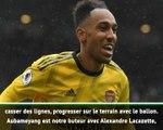 """1ère j. - Emery : """"Aubameyang est notre premier défenseur, Leno notre premier attaquant"""""""