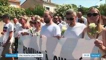 Féminicide : une marche blanche à Marignane pour Chloé