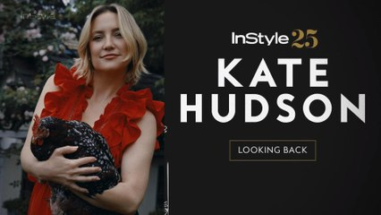 InStyle 25: Kate Hudson Looks Back at Her InStyle Covers