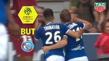But Adrien THOMASSON (21ème) / RC Strasbourg Alsace - FC Metz - (1-1) - (RCSA-FCM) / 2019-20