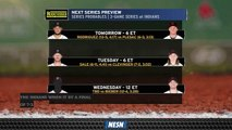 Red Sox Vs. Indians Probable Pitching Matchups