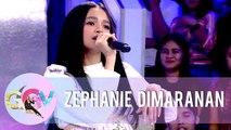 "Zephanie performs different renditions of ""Kilometro"" | GGV"