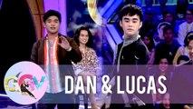 Dan and Lucas flaunt their ballet skills | GGV