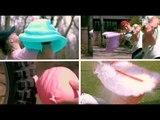 Ces images de ballons de baudruche percés sont fascinantes