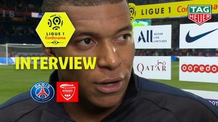 Interview de fin de match : Paris Saint-Germain - Nîmes Olympique (3-0)  - Résumé - (PARIS-NIMES) / 2019-20