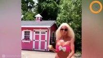 «Je continuerai jusqu'à mes 70 ans» : Nannette, sosie de Barbie, enchaîne les opérations de chirurgie plastique !