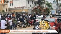 Décès de Dj Arafat - Les motards lui rendent hommage