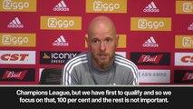 (Subtitled) 'It's not right. Ajax deserve UCL' - Erik ten Hag on Champions League qualifying