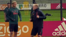 Ajax train on eve of UCL qualifier second leg against PAOK