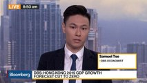 Hong Kong GDP Forecast Downgraded to Zero at DBS