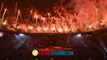Ceremonia de Clausura Lima 2019 - Juegos Panamericanos (Estadio Nacional)