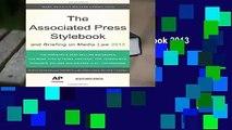 [Doc] The Associated Press Stylebook 2013 (Associated Press Stylebook   Briefing on Media Law)