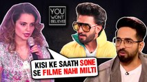 Kangana Ranaut, Ranveer Singh, Radhika Apte   Stars Who Became VICTIMS Of Casting Couch