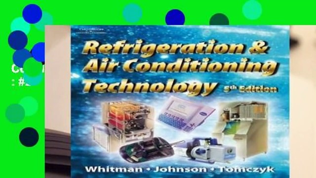 Full version  Refrigeration and Air Conditioning Technology  Best Sellers Rank : #2
