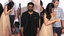 Saaho Trailer: Shraddha Kapoor gets emotional infront on Prabhas; Watch Video | FilmiBeat