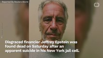 Source: Epstein Wasn't On Suicide Watch At Time Of Death In Jail