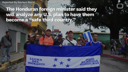 Honduras Has Yet To Receive 'Safe Third Country' Proposal From The US