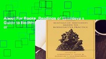 About For Books  Readings of Santideva s Guide to Bodhisattva Practice (Columbia Readings of