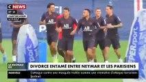 Les supporters parisiens en colère contre le footballeur Neymar : «Qu'il quitte le club!» - VIDEO