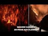 En Espagne, Grande Canarie frappée par un incendie un hors de contrôle