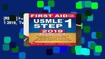 [READ] First Aid for the USMLE Step 1 2019,  Twenty-ninth edition