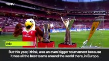 (Subtitled) Taarabt delighted with Benfica's success in the International Champions Cup