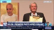 """Alain Delon, victime d'un AVC, """"ne veut pas trop se montrer"""" selon l'un de ses biographes"""