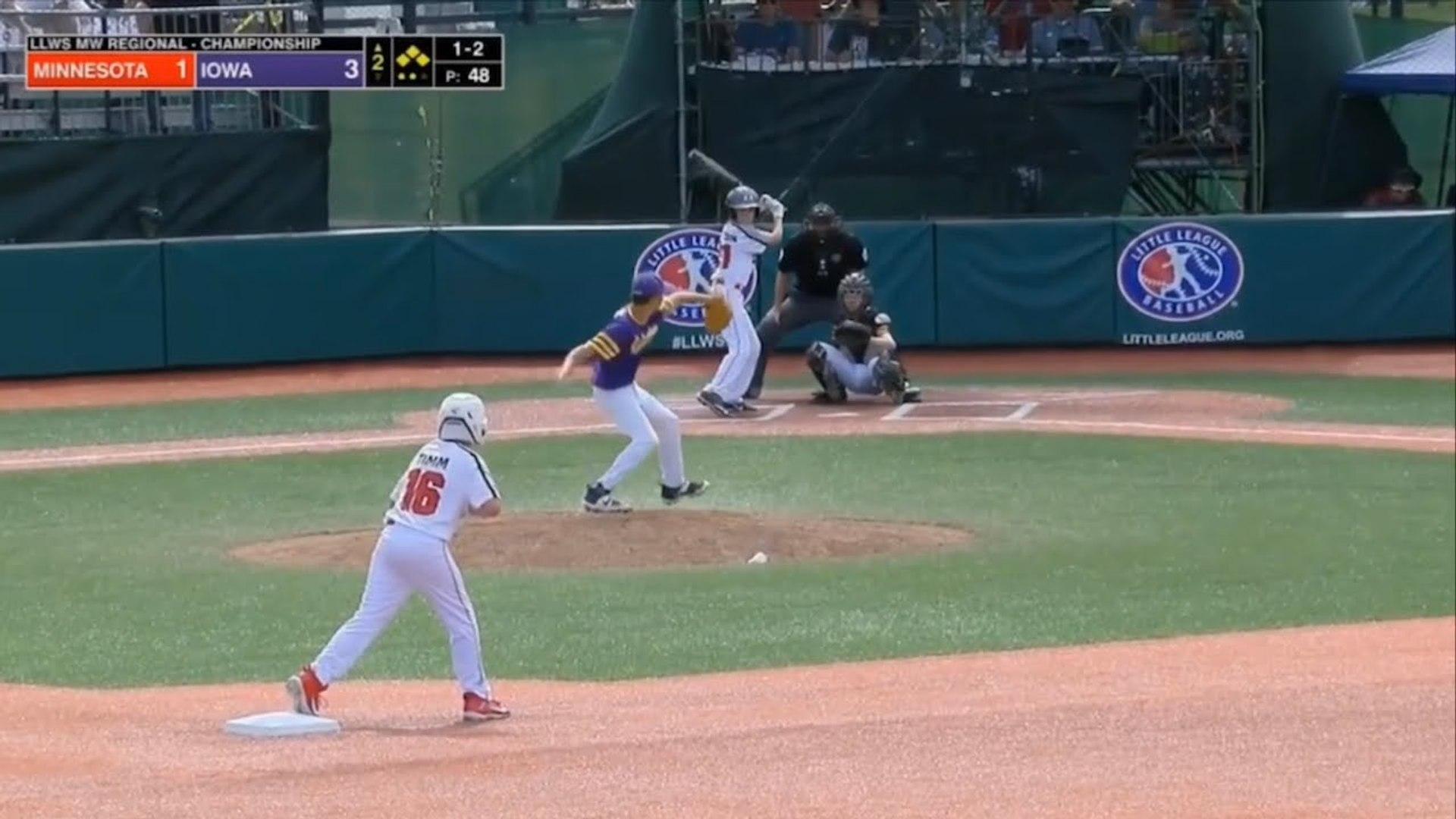LLWS 2019 Midwest Region Championship Game _ Minnesota vs Iowa _ 2019 Little League World Series