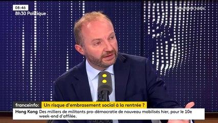 """Julien Bargeton : """"Je crains plus l'attentisme que le blocage social"""""""