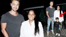 Salman Khan's sister Arpita Khan spotted with Ayush Sharma in between pregnancy news   FilmiBeat