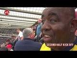 Newcastle 0-1 Arsenal Match Day Vlog   WET, WET, WIN!!!