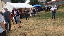 Championnat du monde du lancer de savonnettes  au Mesnil-Garnier