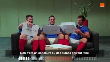 How Japanese Are You - Guirado-Serin-Slimani - Team Orange Rugby