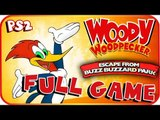 Woody Woodpecker: Escape from Buzz Buzzard Park FULL GAME Longplay (PS2, PC)