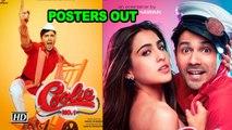 'Coolie No.1' POSTERS OUT | Meet Sara & Varun's AVATARS