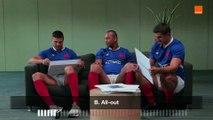 How Japanese Are You - Fickou-Ramos-Ntamack - Team Orange Rugby