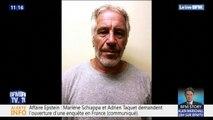 Affaire Epstein: Marlène Schiappa et Adrien Taquet demandent l'ouverture d'une enquête en France