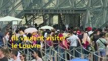 Si vous voulez visiter le Louvre, il vous faudra bientôt réserver votre créneau
